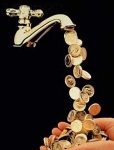 robinet de bani