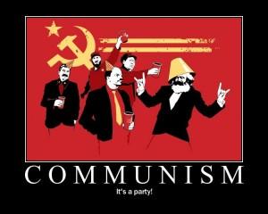 Comunismul e petrecere