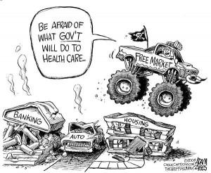 Free market evil